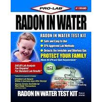 Pro-lab Rw103 Radón En El Agua Hágalo Usted Mismo Kit De Pru