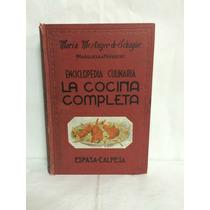 Enciclopedia Culinaria La Cocina Completa Maria Mestayer