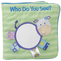 Mi Primer Taggies Cloth Libro: Who Do You See? I See Me!