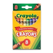 Comprar A Granel: Crayola Crayons 8 / Paquete 52-3008 (12-pa