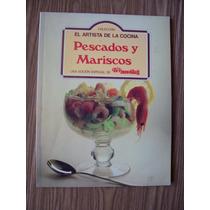Pescados Y Mariscos-ilustrado-el Artista De La Cocina-hm4