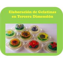 Kit Aprende Hacer Gelatinas Florales 3d, Postres Ricos Y Mas