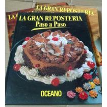 La Gran Repostería Paso A Paso (3 Tomos) - Editorial Oceáno