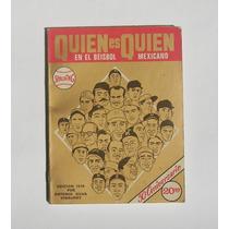 Antonio Silva Quien Es Quien En El Beisbol Mexicano Libro