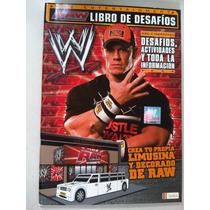 Lucha Libre Wwe Libro De Desafios Raw John Cena Randy Orton