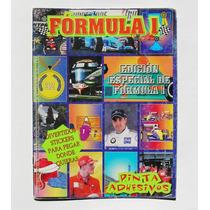 Formula 1, Libro Para Colorear + Stickers 1999