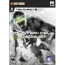 De Splinter Cell Blacklist De Tom Clancy - Pc