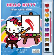 Libro De Posters Para Pintar: Pinta Y Diviértete Con Hello K