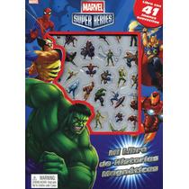 Mi Libro De Historias Magnéticas: Marvel Heroes