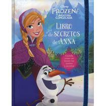 Libro De Los Secretos Big Disney Frozen Anna