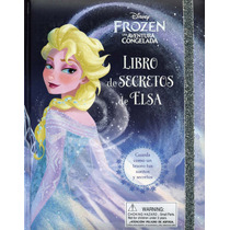 Libro De Los Secretos Big Disney Frozen Elsa