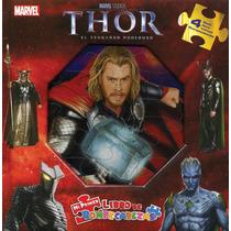 Mi Primer Libro De Rompecabezas: Marvel Thor El Vengador Pod
