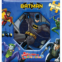 Mi Primer Libro De Rompecabezas: Wb Batman