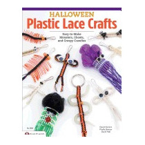 Halloween Plastic Lace Crafts: Easy-to-make, David Kominz