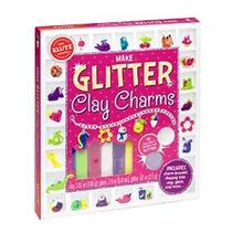 Klutz Haga Glitter Arcilla Encantos Kit Artesanía