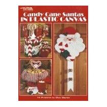 Libro Candy Cane Santas In Plastic Canvas, Dick Martin
