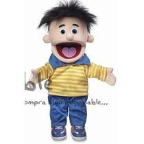 Títere De Mano Puppets Bobby De 35.5 Cm
