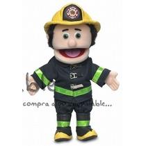 Títere De Mano Puppets Bombero ( Peach) De 35.5 Cm