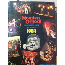 Motley Crue - Tour Book Monster Of Rock 1984