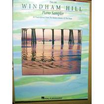 Libro Partitura Musical Windham Hill Piano Sampler 18 Trans