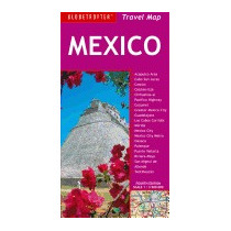 Mexico Travel Map (revised), New Holland Publishers