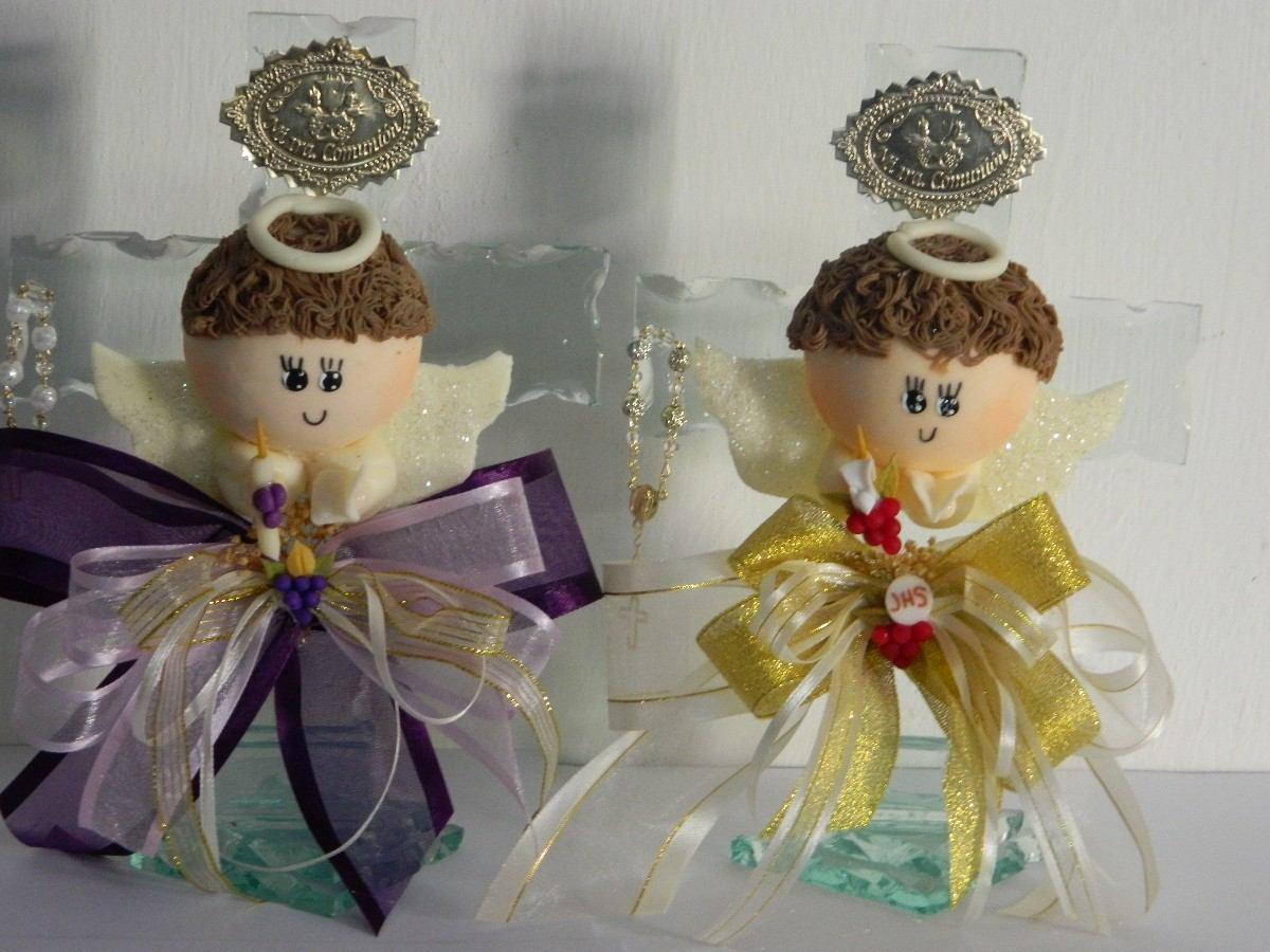 Centros de mesa primera comunion angelitos de yeso - Angelitos de yeso ...