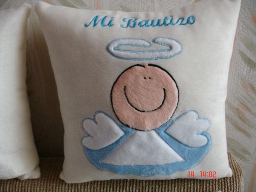 Recuerdos Almohadas Para Bautizo ---- Personalizados---- - $ 44.00 ...