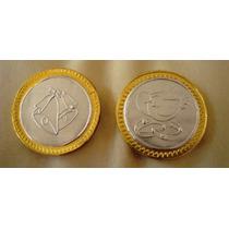 Oferta Paq De 10 Monedas De Chocolate C/ Repujado P/bolo Nvd