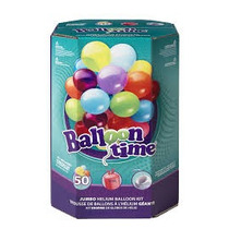 Tanque De Helio 50 Globos (incluidos) Baloon Time