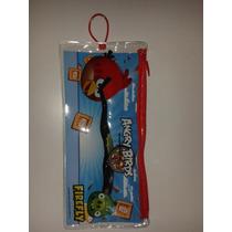 Kit De Cepillo Dientes Con Tapa Angry Birds! Importado