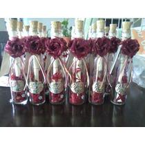 Invitaciones En Botellas De Cristal