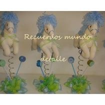 Centro De Mesa Baby Shower Bautizo Caballito De Manta