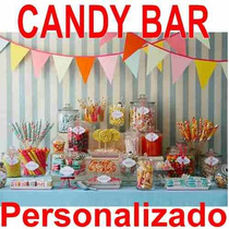 2x1kit Imprimible Candy Bar Golosinas Personalizadas Cumples