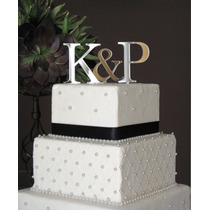 Cake Topper Acrílico Espejo, Decoración Pastel