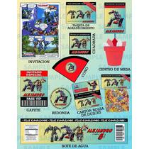 Kit De Transformers-paquete Transformers-paquete Fiesta