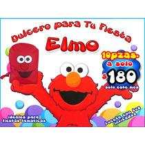 10 Mochilitas Dulcero Plaza Sesamo , Elmo , Maa
