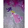 12 Invitacion Con Cadenita Bella Durmiente, Princesa Aurora