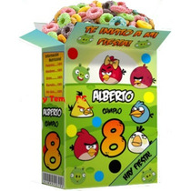 Mega Kit Imprimible Angry8 Birds + Invitación Cajitas