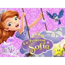 Kit Imprimible Princesita Sofia De Disney Diseñá Tarjetas