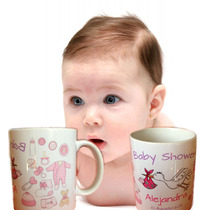 Taza Personalizada Baby Shower Bautizo Primera Comunion