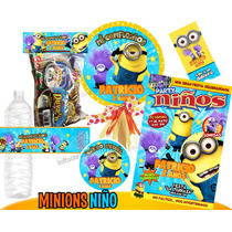 Invitaciones Mi Villano Favorito 2 Minions Kit Imprimible