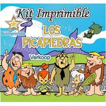 Kit Imprimible Los Picapiedras The Flintstones + Candy Bar X