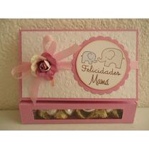 Tarjeta C/chocolates Originales Dia De Las Madres, Mama