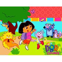 Invitaciones Dora La Exploradora Diseñá Tarjetas ,cumples