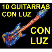 10 Guitarras Inflables, Fiesta, Eventos, Animación Globos