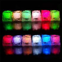 Hielos Luminosos Multicolor Led Sumergibles Fiestas 10pzas
