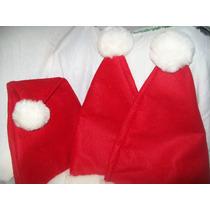 Gcg Lote De Gorros Sombreros Santa Claus Navidad 3 Pzas