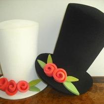 Sombreros De Hule Espuma Para Fiestas. Desde $40 Pesos