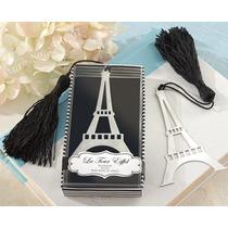 Recuerdo Torrel Eiffel Separador Libro Cumpleaños Boda $25