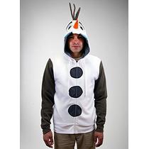 Congelado Soy Traje Olaf Con Capucha Adulto (adultos Peque?
